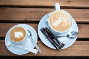 Kaffeespezialitäten der Firma Seeberger